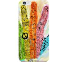 The Hand of Peace iPhone Case/Skin