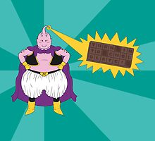 Majin Buu - TURN INTO CHOCOLATE by Mike-Anthony