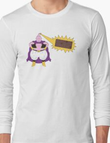Majin Buu - TURN INTO CHOCOLATE Long Sleeve T-Shirt