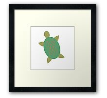 Turtley Awesome  Framed Print