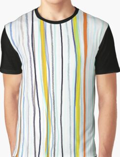Blue and white stripes blue and white stripes Graphic T-Shirt