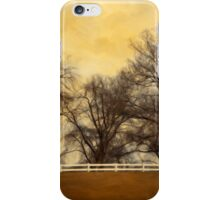 Willows at the Horse Farm iPhone Case/Skin