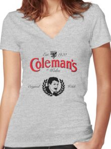 Chris Coleman Women's Fitted V-Neck T-Shirt