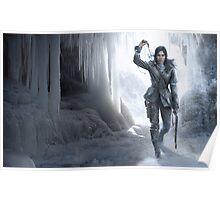 Lara in the Ice Poster
