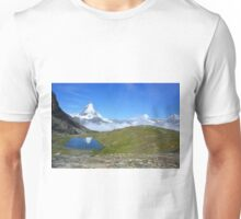 Riffelsee in Zermatt, Kanton Wallis, Schweiz Unisex T-Shirt
