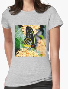 Great Mormon Butterfly Womens Fitted T-Shirt