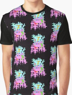 Rectangle Abstract   Graphic T-Shirt