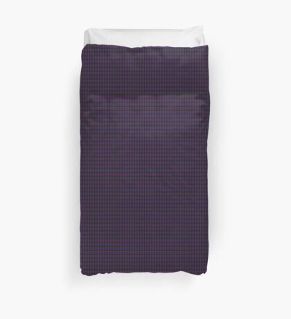 01248 Huckleberry Freeze Fashion Tartan Duvet Cover