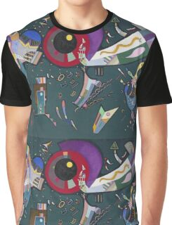 Kandinsky - Around The Circle Graphic T-Shirt