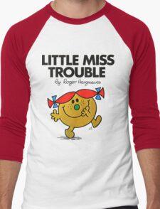 Little Miss Trouble Men's Baseball ¾ T-Shirt