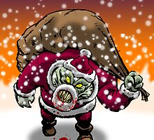 Zombie Santa Claus by tonywicks