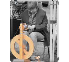 In A Spin iPad Case/Skin