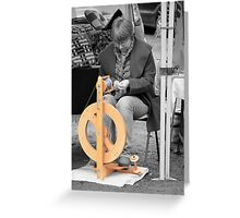 In A Spin Greeting Card