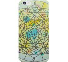 Solar Plexus Chakra Mandala iPhone Case/Skin
