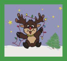 Little Reindeer Kids Tee