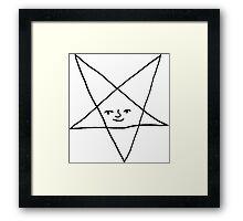 Satanic Lenny Framed Print