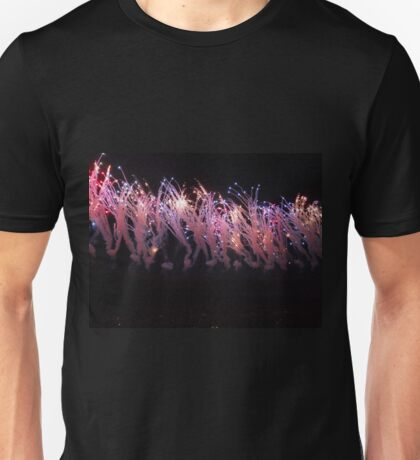Fireworks in the City Unisex T-Shirt