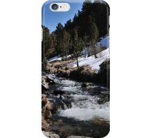 Snowy River Andorra La Vella iPhone Case/Skin