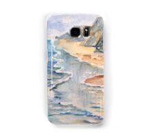 Beach cliffs  Samsung Galaxy Case/Skin