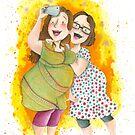 Friendship Selfie by Sanne Thijs