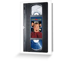 Home Alone vhs iphone-case Greeting Card