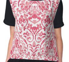 A baroque fabric Chiffon Top