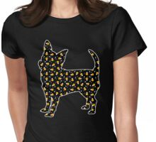 Halloween Chihuahua Womens Fitted T-Shirt