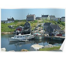 Peggy's Cove again Poster