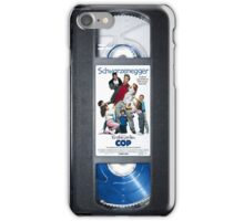 Kindergarten Cop vhs iphone-case iPhone Case/Skin