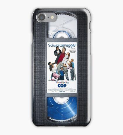 Kindergarten Cop vhs iphone-case iPhone Case/Skin