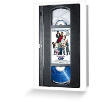 Kindergarten Cop vhs iphone-case Greeting Card