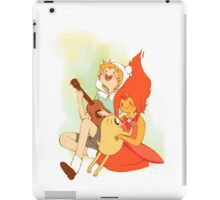 Finn and the Flame Princess iPad Case/Skin