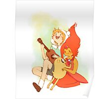 Finn and the Flame Princess Poster