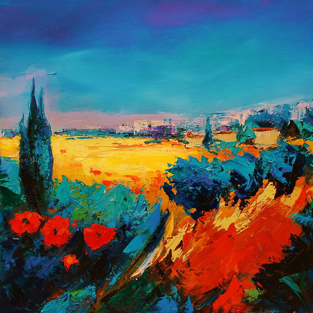 Tuscan Beauty by Elise Palmigiani