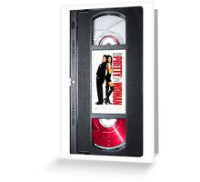 Pretty Woman vhs iphone-case Greeting Card