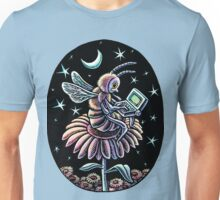 Bee Working at Night Unisex T-Shirt