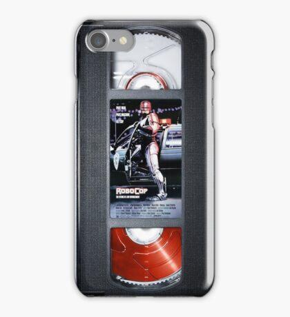 Robocop vhs iphone-case iPhone Case/Skin