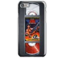 Rambo vhs iphone-case iPhone Case/Skin