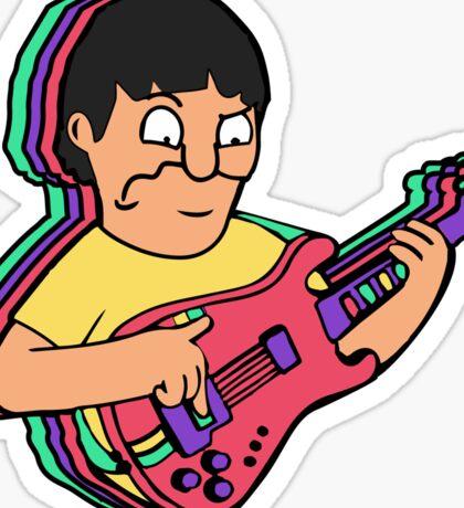 Banjo Gene Sticker