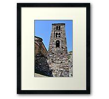 church in Andorra La Vella Framed Print