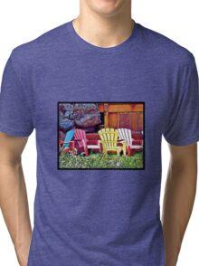 Lounge Chairs Tri-blend T-Shirt