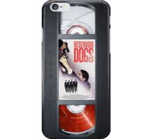 Reservoir Dogs vhs iphone-case iPhone Case/Skin