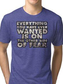 No Fear.  Tri-blend T-Shirt