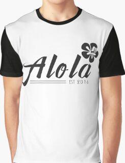Alola Region Graphic T-Shirt