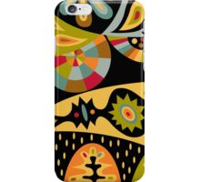 Bohemian black iPhone Case/Skin