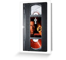 Speed vhs iphone-case Greeting Card