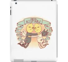 I Find You Acceptable iPad Case/Skin