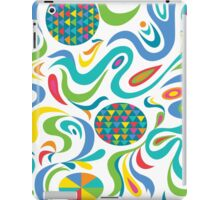 Cartwheel white iPad Case/Skin