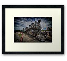 iron horse..... Framed Print