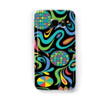 Cartwheel Black Samsung Galaxy Case/Skin